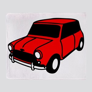 mini car Throw Blanket