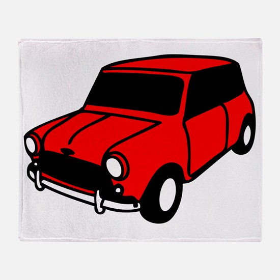 mini car Throw Blanket