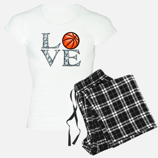 Love Basketball pajamas