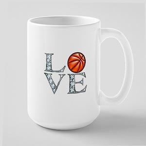 Love Basketball Large Mug