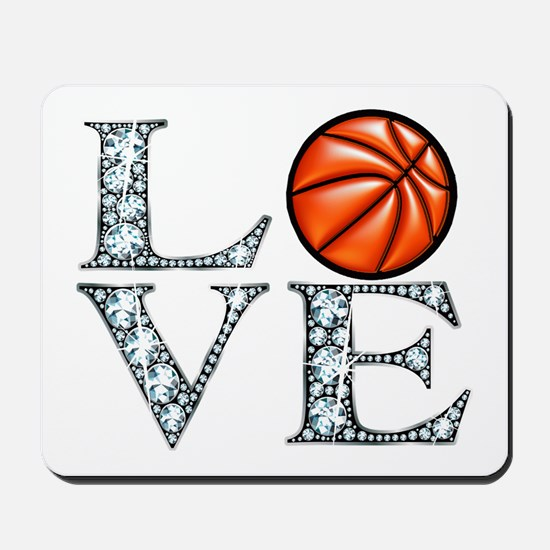 Love Basketball Mousepad