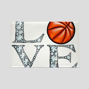 Love Basketball Magnets