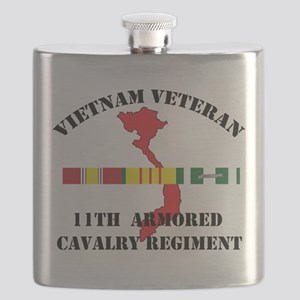 11th Cavalry Regiment Flask
