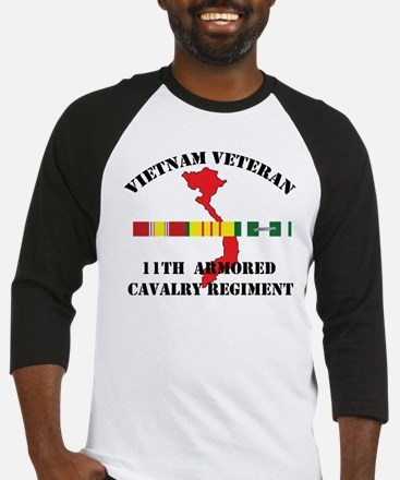 11th Cavalry Regiment Baseball Jersey