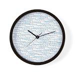 School of Ballyhoo Wall Clock