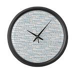 School of Ballyhoo Large Wall Clock