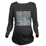 School of Ballyhoo Long Sleeve Maternity T-Shirt