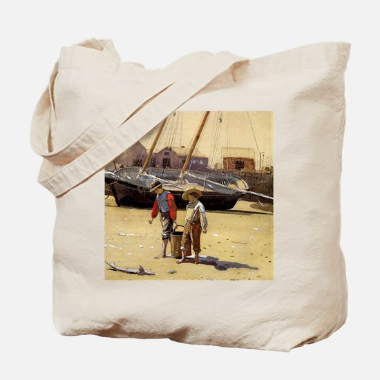 Homer - A Basket of Clams Tote Bag