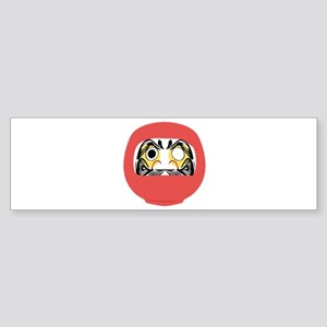 Japanese Daruma Doll Bumper Sticker