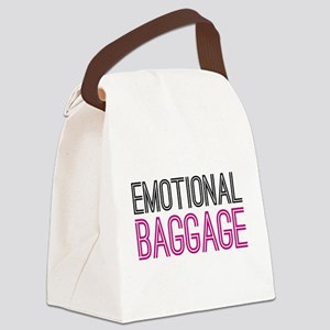 Emotional Baggage Canvas Lunch Bag