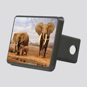Family Of Elephants Hitch Cover