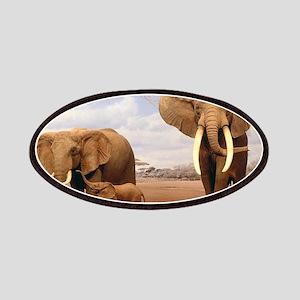 Family Of Elephants Patch