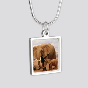 Family Of Elephants Necklaces