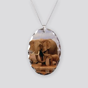 Family Of Elephants Necklace