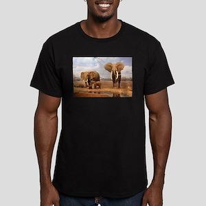 Family Of Elephants T-Shirt
