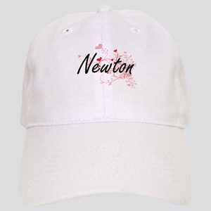 Newton Artistic Design with Hearts Cap