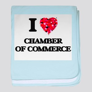 I love Chamber Of Commerce baby blanket