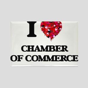 I love Chamber Of Commerce Magnets