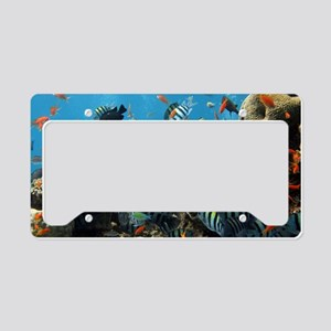 Fishes and Underwater Plants License Plate Holder