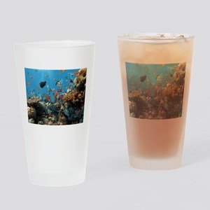 Fishes and Underwater Plants Drinking Glass
