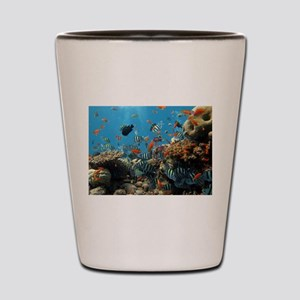 Fishes and Underwater Plants Shot Glass
