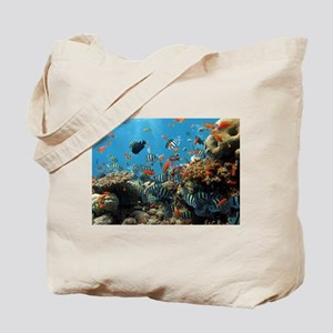 Fishes and Underwater Plants Tote Bag