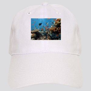 Fishes and Underwater Plants Baseball Cap
