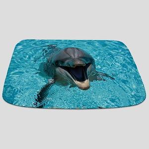 Smiling Dolphin Bathmat