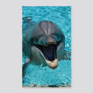 Smiling Dolphin Area Rug