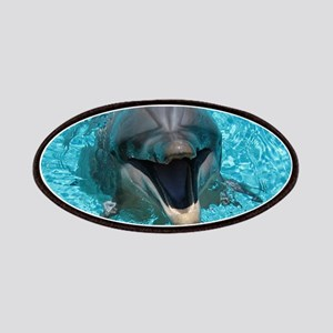 Smiling Dolphin Patch