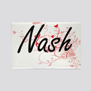 Nash Artistic Design with Hearts Magnets