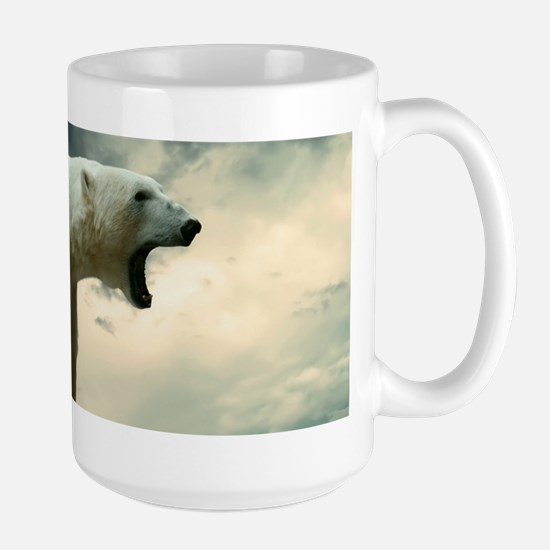 Polar Bear Roaring Mugs