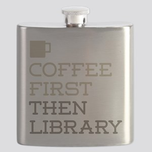Coffee Then Library Flask