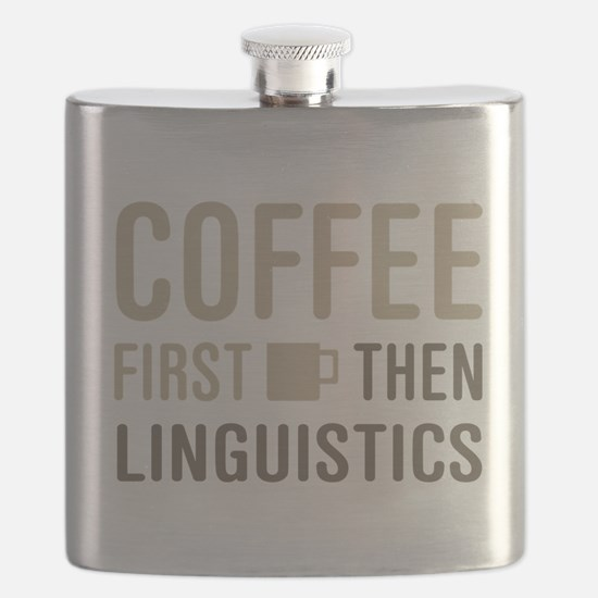 Coffee Then Linguistics Flask