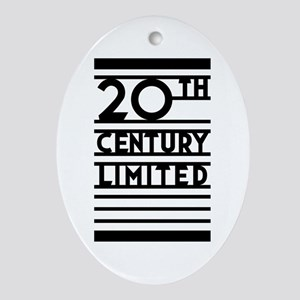20th Century Limited Oval Ornament