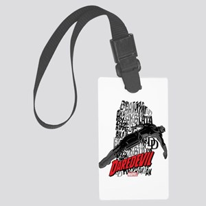 Daredevil Falling Large Luggage Tag