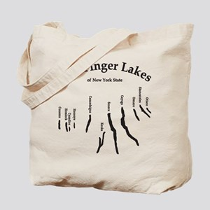 finger-lakes 2 logo Tote Bag