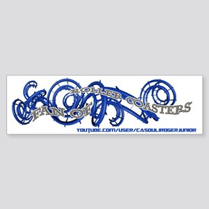 Fan of Roller Coasters Sticker (Bumper)