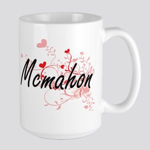 Mcmahon Artistic Design with Hearts Mugs