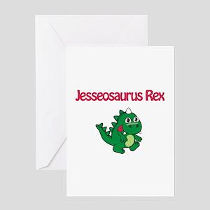 Jesseosaurus Rex Greeting Card
