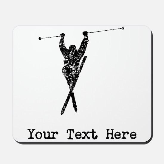Vintage Extreme Skier (Custom) Mousepad