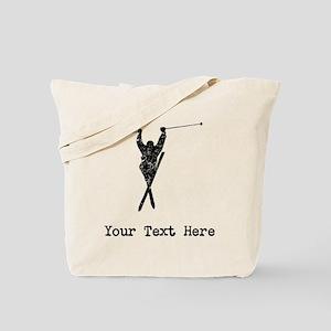 Vintage Extreme Skier (Custom) Tote Bag