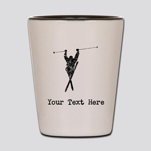 Vintage Extreme Skier (Custom) Shot Glass