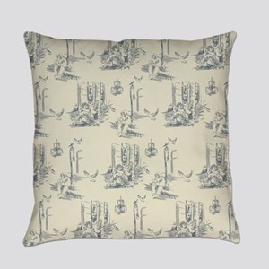 American Toile Everyday Pillow