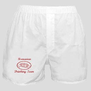 Romanian Drinking Team Boxer Shorts