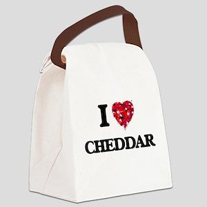 I love Cheddar Canvas Lunch Bag