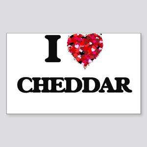 I love Cheddar Sticker