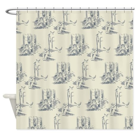 American Toile Shower Curtain