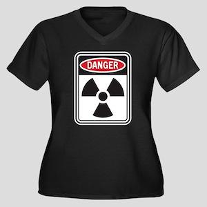 Danger Radiation Plus Size T-Shirt
