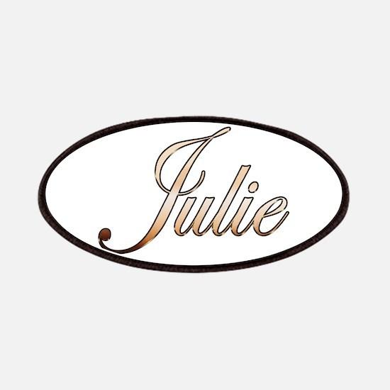 Gold Julie Patch